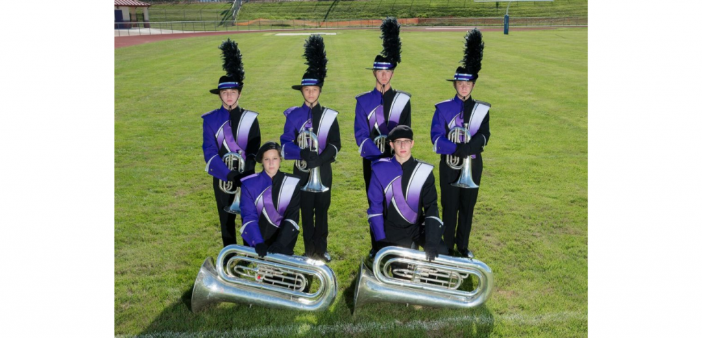 Northern York County Marching Band Low Brass Dillsburg Pennsylvania