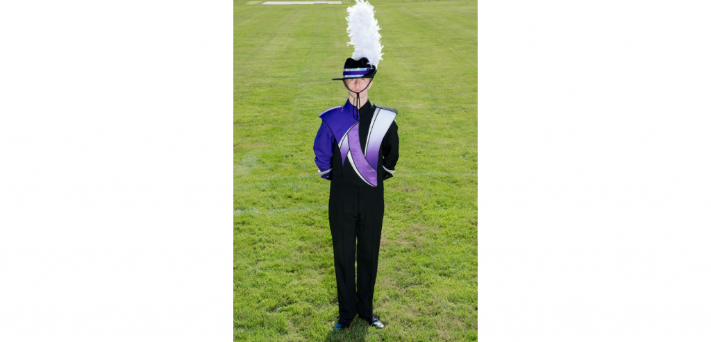 Northern York County Marching Band Drum Major Josiah Dillsburg Pennsylvania